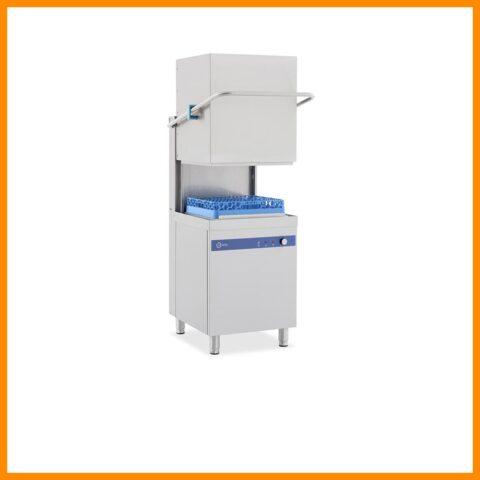 Crystal CRW1000 Giyotin Tipi Bulaşık Yıkama Makinesi, 1000 Tabak Kapasitesi, Paslanmaz Çelik, 2 Programlı