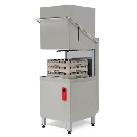 Empero EMP1000 Giyotin Tipi Bulaşık Yıkama Makinesi, 1000 Tabak Kapasitesi, Paslanmaz Çelik, 4 Programlı