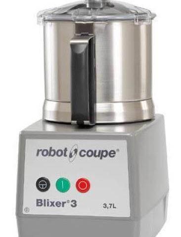 Robot Coupe Blixer 3, Set Üstü Blixer, 3.7 L Paslanmaz Çelik Hazne, 750 W