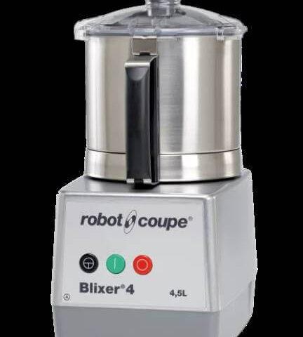 Robot Coupe Blixer 4-1V, Set Üstü Blixer, 4.5 L Paslanmaz Çelik Hazne, 900 W