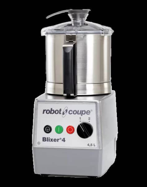 Robot Coupe Blixer 4-2V, Set Üstü Blixer, 4.5 L Paslanmaz Çelik Hazne, 1000 W