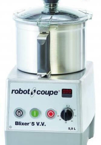 Robot Coupe Blixer 5 V.V. Set Üstü Blixer, 5.5 L Paslanmaz Çelik Hazne, 1400 W